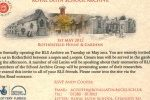 Invitation to RLS Archive Opening