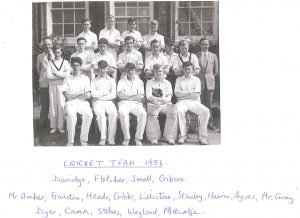Cricket Team 1956